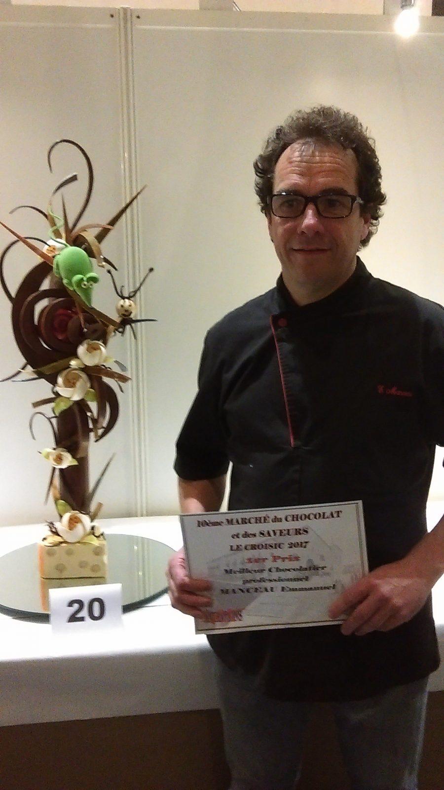 1er prix Meilleur Chocolatier Professionnel